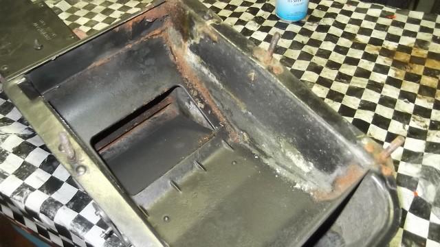 102 inside of heater box