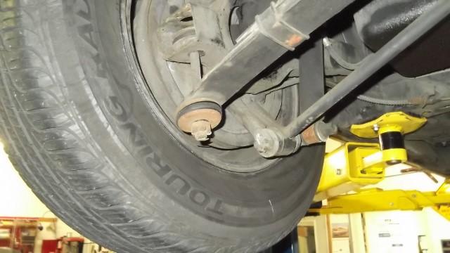 119 rear suspension