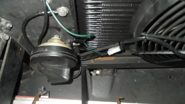 154 electric fan wired