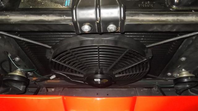155 fan mounted