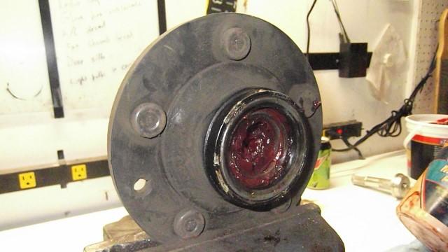 165 repacking front bearings