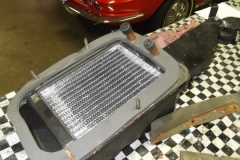 114 new seals installed on heater box