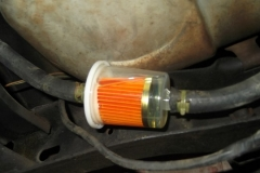 132 new fuel filter installed