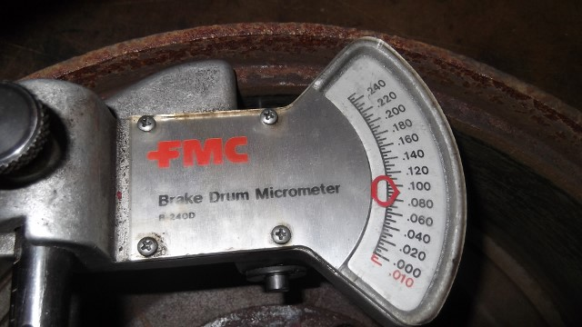 160 RF brake drum 11.090 inches