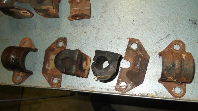 164 rear stabilizer bar mount hardware