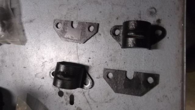 174 hardware for rear after paint