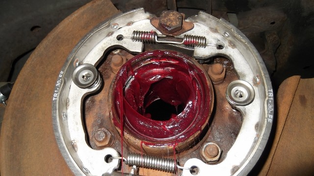 161 bearing housing packed with grease