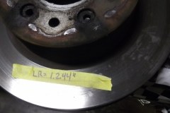 124 LR rotor is 1.244 inches - this is a newer rotor