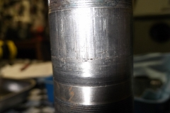 141 grooves worn into LR axle where inner bearing was seized