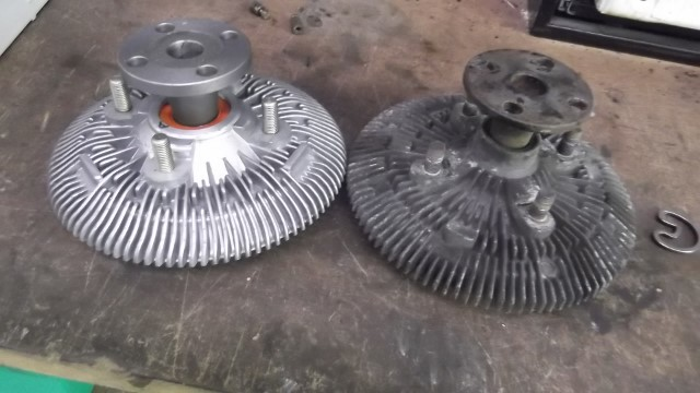 213 fan clutch replacement vs removed