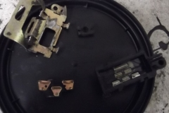 166 turn signal switch disassembled