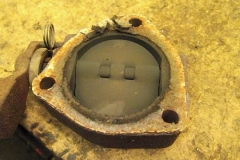 221 heat riser gasket in terrible condition - will be replaced