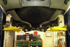 226 exhaust system installed