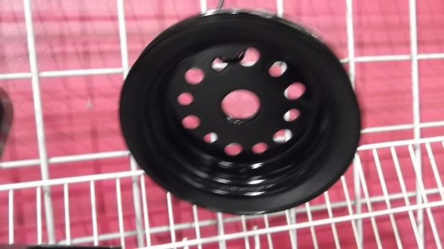 129 balancer pulley painted
