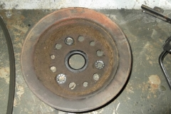 115 balancer pulley as removed