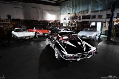 160 Eastern Corvettes 1963 300hp restoration photography by DKFX
