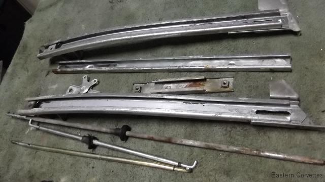 191 degreased LH door hardware