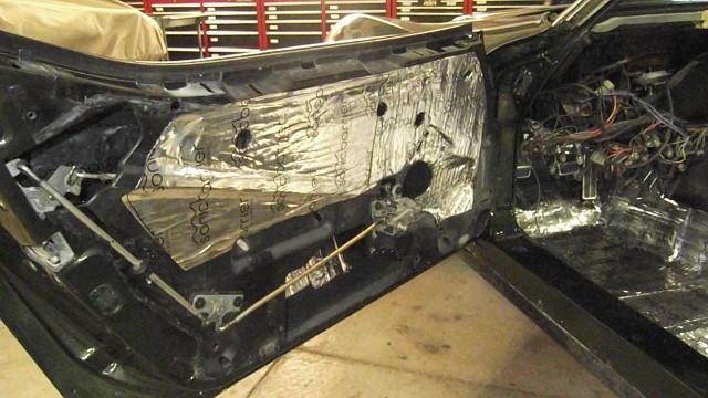 264 inner door metal covered