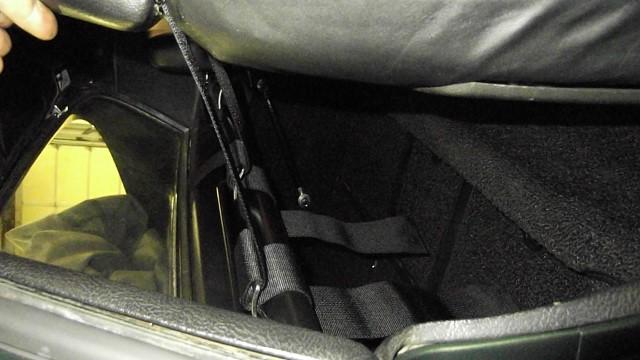 313 new shoulder harness bar installed