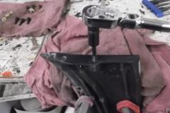 151 repairing the threads in the wiper door