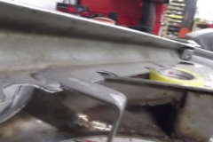 162 inside of front bumper