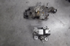173 Latch and control removed from LH door