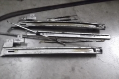 174 door rods and window tracks removed from RH