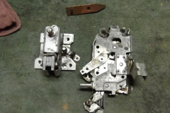 192 degreased LH door latch and control