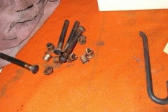 214 broken hinge spring and old door hing pins