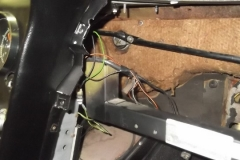 103 heater Y duct and Defroster duct removed