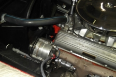110 alternator set up on LH side with new harness