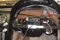 128 assembly installed to dash