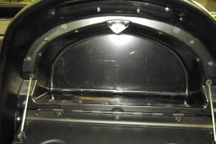136 glove box installed with new shallow insert