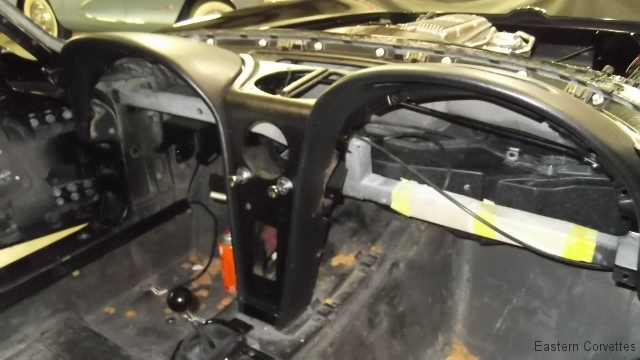 508 dash assembly installation begins