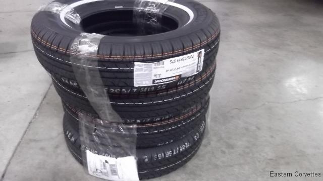 122 customer tires arrived