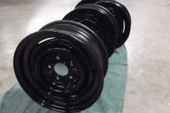 123 wheels painted