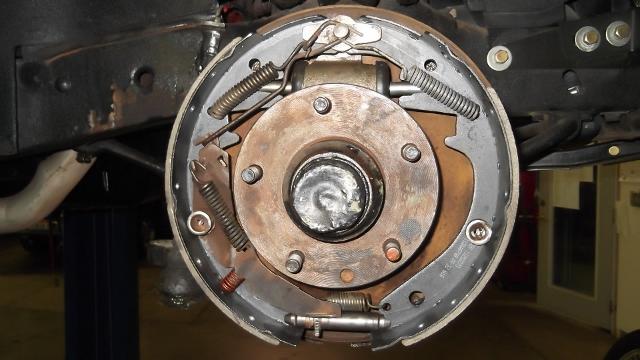 124 brakes installed