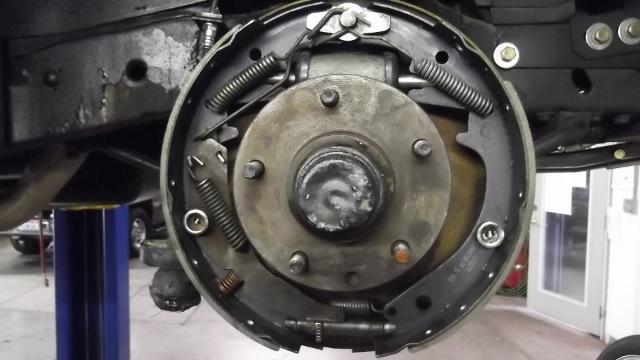 125 brakes installed