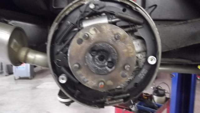 126 brakes installed