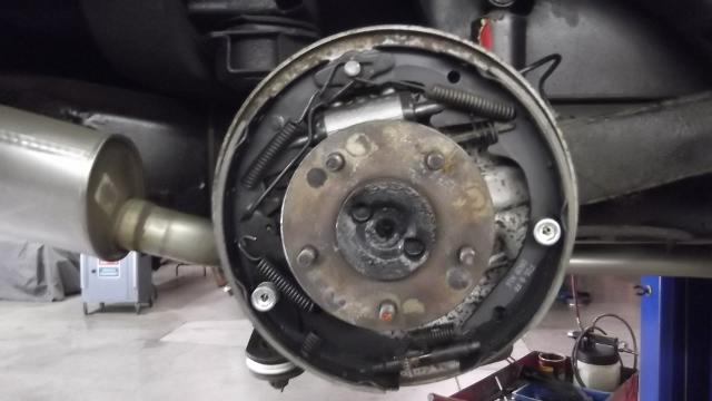127 brakes installed