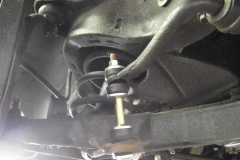 102 new sway bar links installed